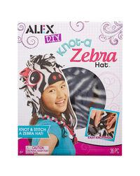 Alex Toys Diy Knot A Zebra Hat, Age 6+