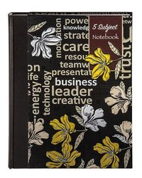 5 Subject Premium Notebook Size A6 ( Pages - 400P) -A