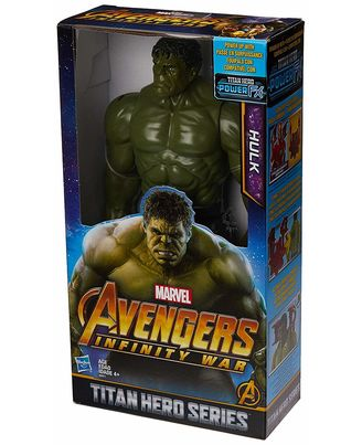 Avengers 12 Inch Titan Hero Series Hulk Action Figure, Age 4+