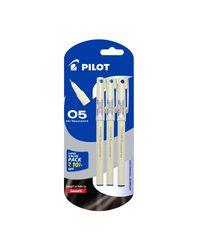 Pilot V7 Liquid Ink Roller Ball Pen (1 Blue+ 1 Black+ 1 Green)