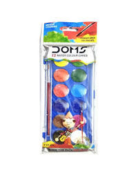 Doms Water Color Cakes 12 Shades (30 mm)