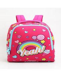 Smily Junior Backpack Pink