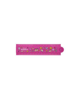 Smily Fold Up Ruler-Pink