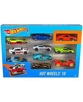 Hot Wheels 10 Car Gift Pack Asst, Age 3+
