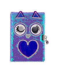 Owl Flip Sequinnotebook, mix