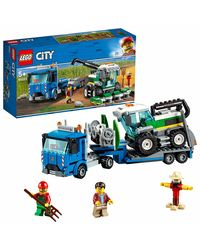 Lego City Harvester Transport Building Blocks, Age 5+