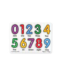 Melissa And Doug See Iside Numbers Puzzle, Age 2+