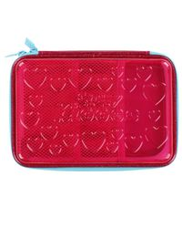 Heart Pencil Box Purple