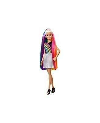 Barbie Rainbow Sparkle Style Up Doll, Age 3+