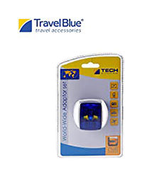 Travel Blue World Wide Adaptor Set