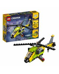 Lego Creator Helicopter Adventure Building Blocks, Age 6+