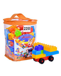 "Sunta: Sunta Basic Blocks-88Pcs In Pvc Carry Bag, Pkg Size 6"" X6"" X8.5"" , Age 3+"