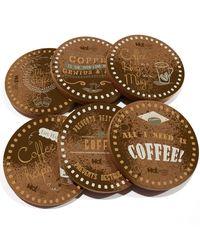 Coffee Bunk (Set Of 6 Coasters)