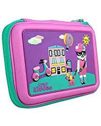 Smily kiddos| Smily Scented Hardtop Pencil Box (Purple) | kids pencil case| School Pencil Case| Pencil Case for Boys & Girls| School kids Pencil Box| Girls Pencil Box| Birthday Returns Gifts
