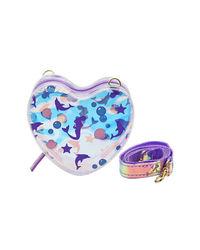 Hamster London Heart Sling Bag Mermaid, purple