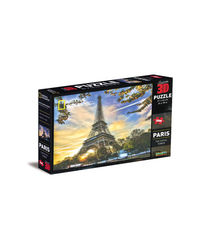 National Geographic Super 3D Puzzle Paris The Eiffel Tower, na