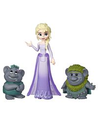 Disney Frozen Elsa With Troll Small Doll, Age 6 To 8 Years