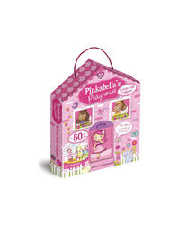 Pinkabella'S Playhouse Activity Book And Playset, na