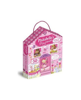 Pinkabella S Playhouse Activity Book And Playset, na
