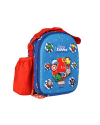Marvel - Superheroes - Hardtop Lunch Bag - Blue, blue
