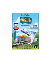 Smartivity Edge Get Set Go Vehicles Augmented Reality Colouring Sheets, Age 3+