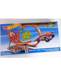 Hot Wheels Power Shift Raceway Track Set, Age 5+