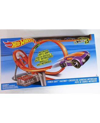 Hot Wheels Power Shift Raceway Track Set, Age 5+