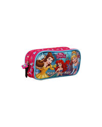 Disney Princess Pink Double Zip Pouch
