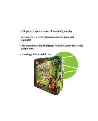 Kaadoo Board Game Disney Pixoo Jungle Book, Age 4+