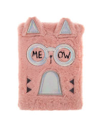 Fancy Cat Plush Pencil Case, mix