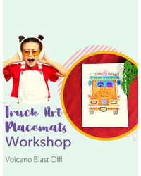 Truck Art Placemats - June 12th, 11: 00 am– 12: 15 pm