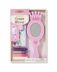 Melissa And Doug Wooden Crown Mirror, Age 4+