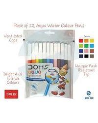 Doms Watercolour Acqua Pen 12 Shades