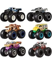 Hot Wheels Monster Trucks 1: 64 Doubles Asst, Age 3+