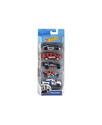 Hot Wheels 5 Car Gift Pack Asst, Age 3+
