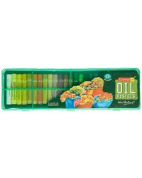 Oil Pastel 25-Shades With Reusable Plstic Pack