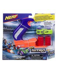 Nerf Nitro Throttleshot Blitz Gun, Age 9 To 12 Years