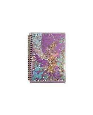 Twinkle Metallic Spiral Notebook Purple