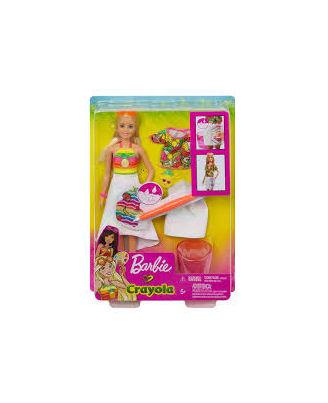 Barbie Crayola Rainbow Cutie Fruity Surprise Doll, Age 3+