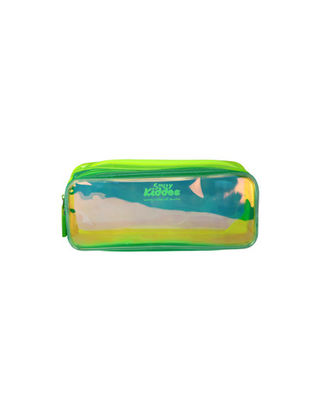 Smily Gleamy Pencil Pouch Green