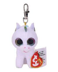 TY Soft Toys: Pixy - White Unicorn Clip, AGE 3+