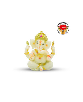 Ganesha 4 Hands Green
