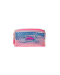 Smily Bubble Utility Pouch Pink, pink