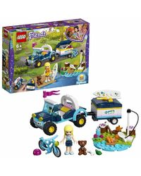Lego Friends Stephanie'S Buggy & Trailer Building Blocks, Age 6+