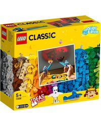 Lego Classic Bricks & Lightes Building Blocks, Age 5+