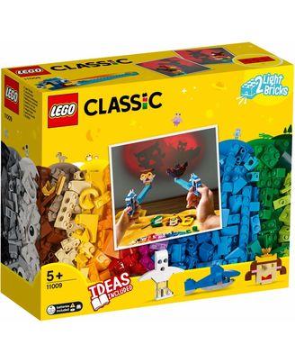 Lego Classic Bricks & Lightes Building Blocks, Age 5+