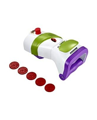 Toy Story 4 Buzz Lightyear Rapid Disc Blaster, Age 3+
