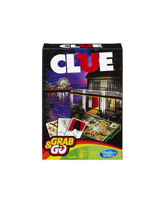 Hasbro Games Clue Grab And Go, Age 8+