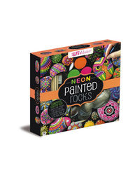 Art Maker Neon Painted Rocks, multi
