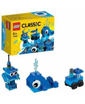 LEGO CLASSIC: Creative Blue Bricks, Age 4+